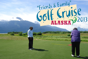 friends and family Alaska golf cruise 2013_300x200