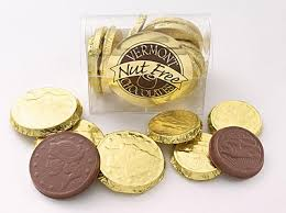 vermont nut free coins