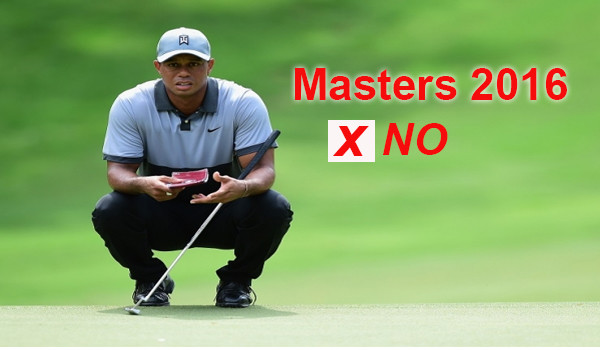 Tiger Woods Masters 2016