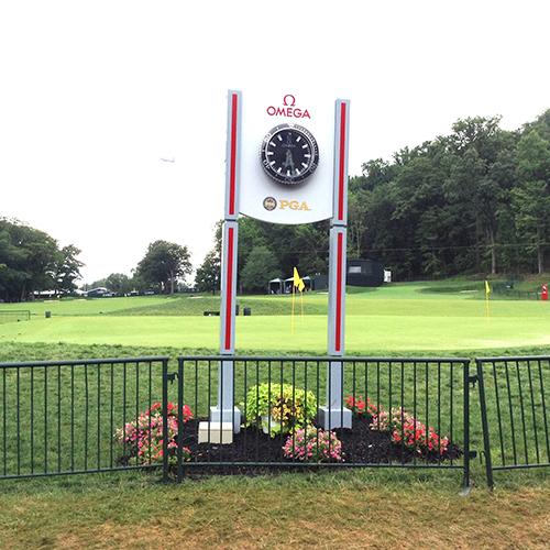 Clock at PGA Chhampionship