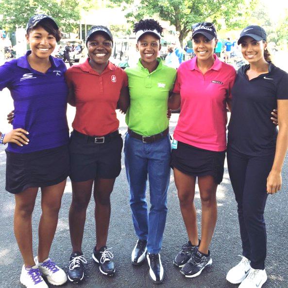 14+ Black female golfer 2019 info