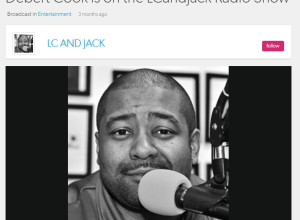 debert cook on lc and jack radio show april 2016