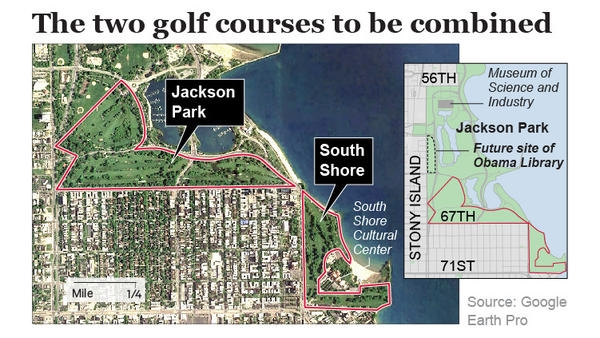 Tiger Woods Chicago Golf Course Hits A Sour Note With Local