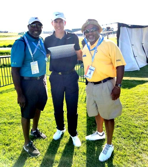 L-R: Derrick Stingley, Cameron Champ, Craig Stingley