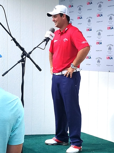 Patrick Reed after shooting 65.