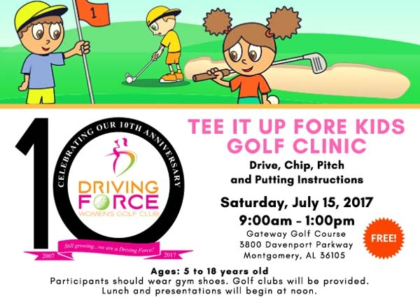 tee it up fore kids golf clinic