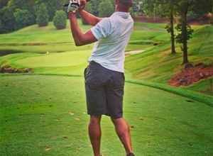 6′ 5″ Gerald Henderson is an avid golfers who has enjoyed golf for years.