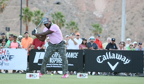 Maurice Allen ready to rip. Photo: WorldLongDrive.com