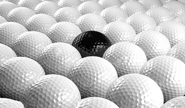 golf balls diversity minority