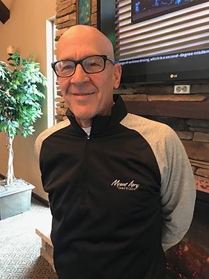 PGA Pro Chris Zelenka at Mount Airy Casino Resort in Poconos Pennsylvania