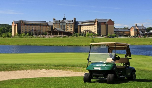 Mount Airy Casino Resort Golf Course offers great views