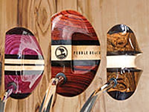 Musty Putters has beautiful new woods for putters.