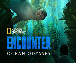 The experience, National Geographic Encounter: Ocean Odyssey is open