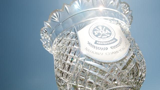 PGA Professional National championship trophy