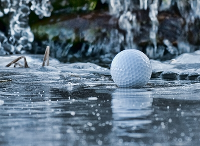 winter golf can be a fun experience