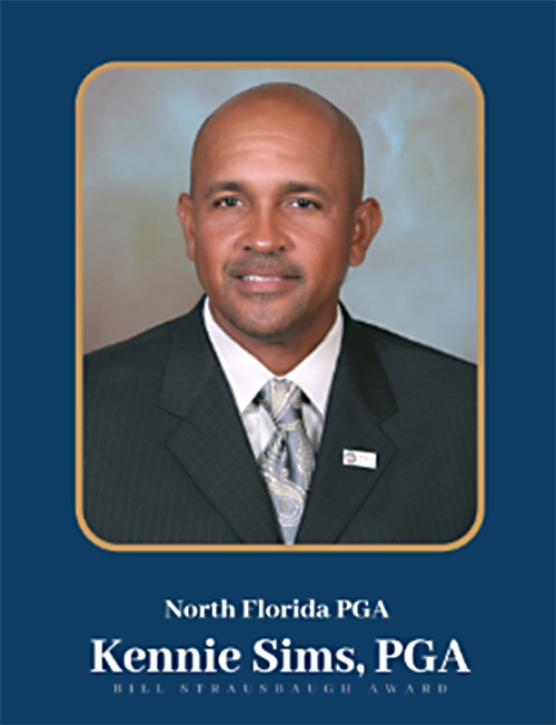 Kennie Sims, PGA, 2019 Bill Strausbaugh Award Recipient